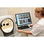 Дерматоскопия - неоперационный способ исследования определение наличие различных кожных заболеваний способствующих возникновению меланомы. фото