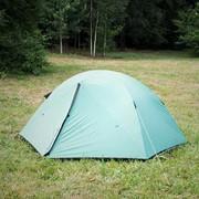 Палатка туристическая 2-х местная BAIKAL (с двумя входами) фото
