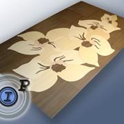 Гидроабразивный раскрой керамической плитки, керамогранита, камня и других напольных материалов. фото