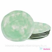 Набор Тарелок Десертных Из 6 Шт., диаметр 26 См. Коллекция Парадиз Цвет: Райское Яблоко фото