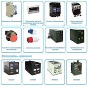 Продажа: низковольтной аппаратуры, стабилизаторов напряжения, инверторов, автотрансформаторов, термоусадочной продукции, коммутационное оборудование,модульное оборудование, изделия для кабельного монтаж фото