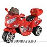 Детский электромотоцикл МОТО HJ 9888 красный