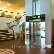 Лифты больничные, панорамные гидравлические фото