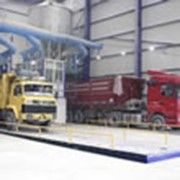 Платформы разгрузки грузовиков фото