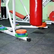 Резиновая напольная плитка TM ECOFLEX-SPORT для спортзала фото