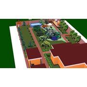 Проектирования ландшафта в 3D фото