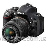 Фотоаппарат Nikon D5200 +18-55 VR II G фото