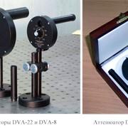 Дифракционные аттенюаторы с переменным пропусканием DVA-8 и DVA-22 фото