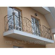 Кованое балконное ограждение фото