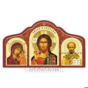 Икона триптих, наклейка фото
