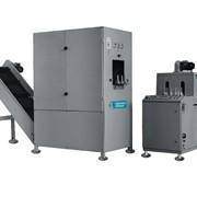 Машина выдувная Б3-ВВП-3-02 для изготовления пластмассовых ПЭТ-бутылок методом раздува в прессформе предварительно разогретых заготовок (преформ). фото