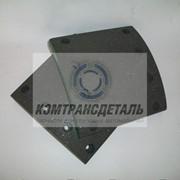Накладки тормозные ТОНАР стандарт 14612 8 отверстий 420*180 фото