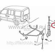 Направляющий кронштейн запасного колеса Doblo 2000-2011 46754343 фото