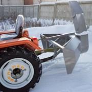 Роторный Снегоочиститель Н14 на минитрактор новый фото