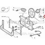 Дифузор с вентелятором 1.2 8v Doblo 2000-2005 51738718 фото