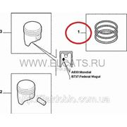 Кольца поршневые 72.00 1.2*1.2*2.0 +0.40 1.4 8v Doblo 2005-2009(4cyl) 71745097 фото