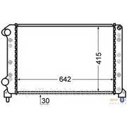 Радиатор охлаждения 1.6 16v-1.9D Doblo 2000-2005 46803039 фото