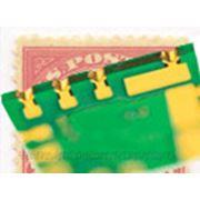 Печатные платы с металлизированным полуотверстиями фото