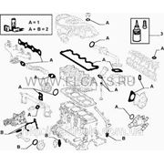 Комплект прокладок 1.9D Doblo 2000-2005 71715699 фото
