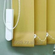 Жалюзи вертикальные тканевые в Алматы фото
