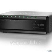 Коммутатор Cisco SB SG200-08P 8-port Gigabit PoE Smart Switch (SLM2008PT-EU) фото