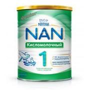 Сухая смесь NAN кисломолочный 1, 400г фото