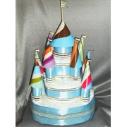 Торт из подгузников фото
