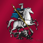 Флаг Москва фото