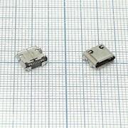 Разъем Micro USB для Samsung Galaxy S Wi-Fi 5.0 YP-G70 E2652/S7320/S7330 (5 pin) фото