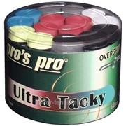 Намотки для тенниса, сквоша, бадминтона Pro's Pro Ultra Tacky Tape 60 pack mixed фото