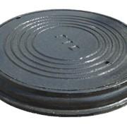 Чугунный люк для кабельных колодцев ГТС фото