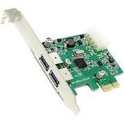 PCI-E на USB3.0 контроллер 2 внешних USB Orient NC-3U2PE NEC D720200 плюс разъём доп-питания фото