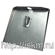 Лопата для снега алюминиевая с нижним входом фото