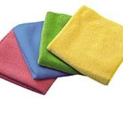 Салфетки для уборки из микрофибры. Размер 40*40см. фото
