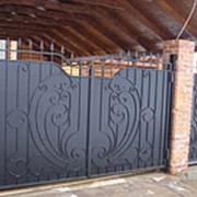 Ворота распашные РВ-10 фото