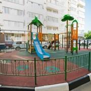 Покрытие для детской игровой площадки фото
