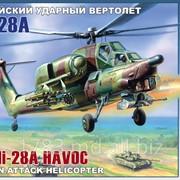 Вертолет Ми 28 - пластмасс. модель для склеивания масштаб 1/72 фото