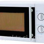 Микроволновая печь Comer механическая объем 20 металик фото