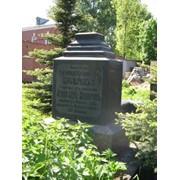 Нанесение надписей на надгробия фото