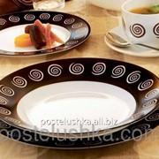 Тарелка суповая Luminarc Sirocco Brown 220 мм H4886 фото