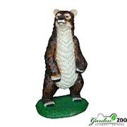 Фигура садовая Медведь большой фото