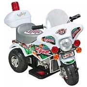 Электромотоцикл детский Буггати фото