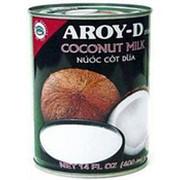 Молоко кокосовое AROY-D 60%, 400г фото