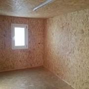 Бытовка, блок-контейнер 6х2.4х2.5 метра с отделкой ОСб фото