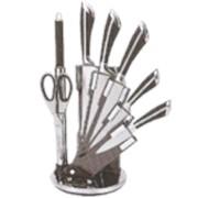 Наборы ножей ТМ SWISS&BOCH (7 ШТ.) ЧЕРНОГО ЦВЕТА Код: SB-KSS-700 фото