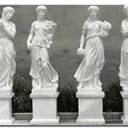 Ритуальные скульптуры и барельефы, садовые скульптуры фото