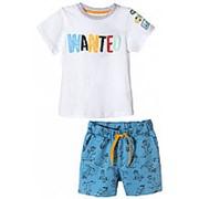 Комплект футболка и шорты для мальчика фото
