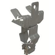 Держатель для крепления трубы к балке 10-15 мм диаметр 22-30 мм гориз.монт. фото