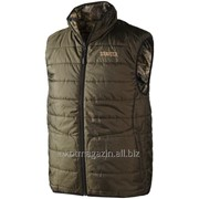 Arvik Reversible waistcoat, Optifade&trade-/Hunting green фото