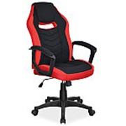 Кресло компьютерное Signal CAMARO (черный/красный) фото